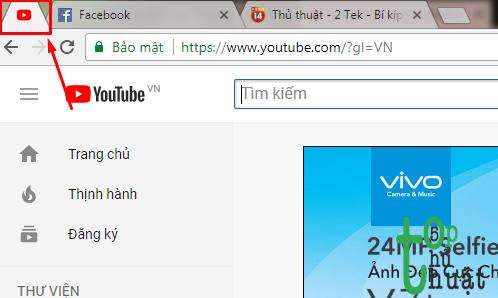 Thủ thuật cho trình duyệt Google Chrome  trên windows