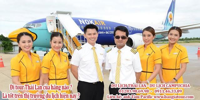 Đi tour Thái Lan của hãng nào là tốt trên thị trường du lịch hiện nay ?