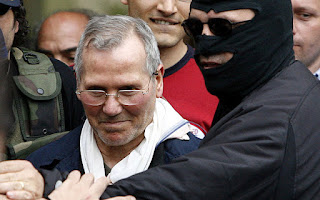 Bernardo Provenzano after he was arrested in 2006 following 43 years on the run from police