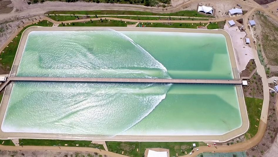 nland surf park wavegarden