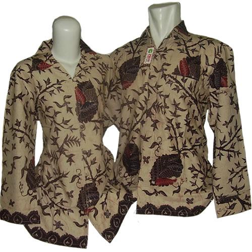 Model Baju Batik Semi Formal: Baju Batik Trend Model 2012