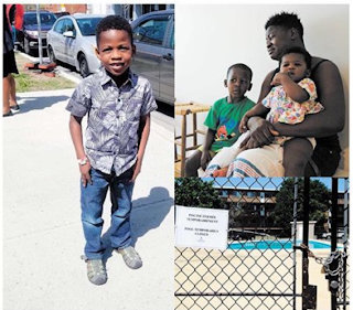Nigeria boy drowns in a pool 2 months after relocating to Canada