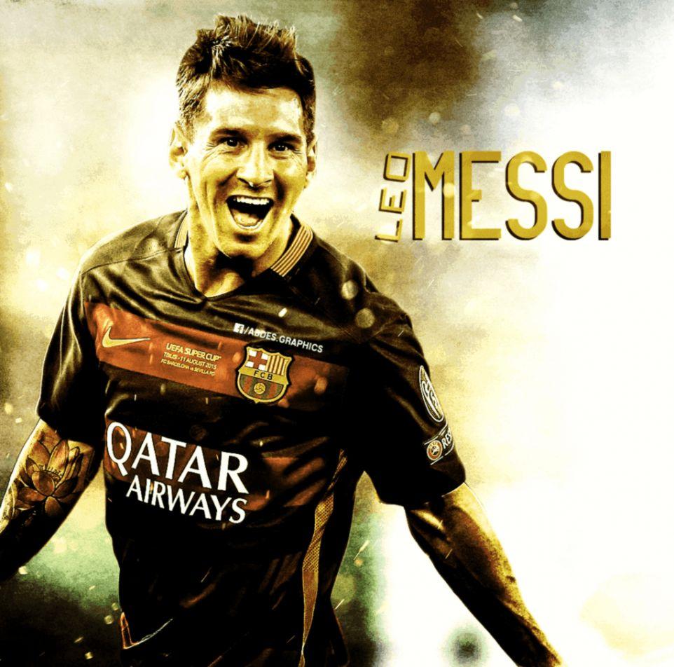 Lionel Messi Hd Wallpaper 2015 Yellow Wallpapers Sensei