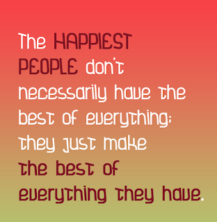 The Happiest People - Happiness Quotes