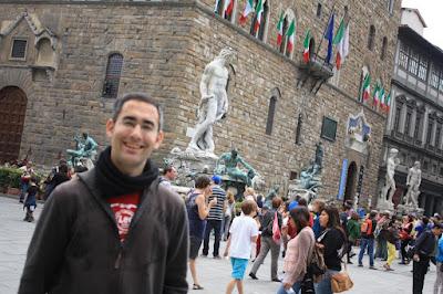 Palazzo Vecchio and Piazza della Signoria in Florence