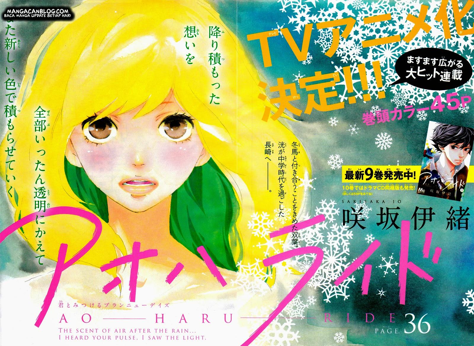 Ao Haru Ride Chapter 36-4
