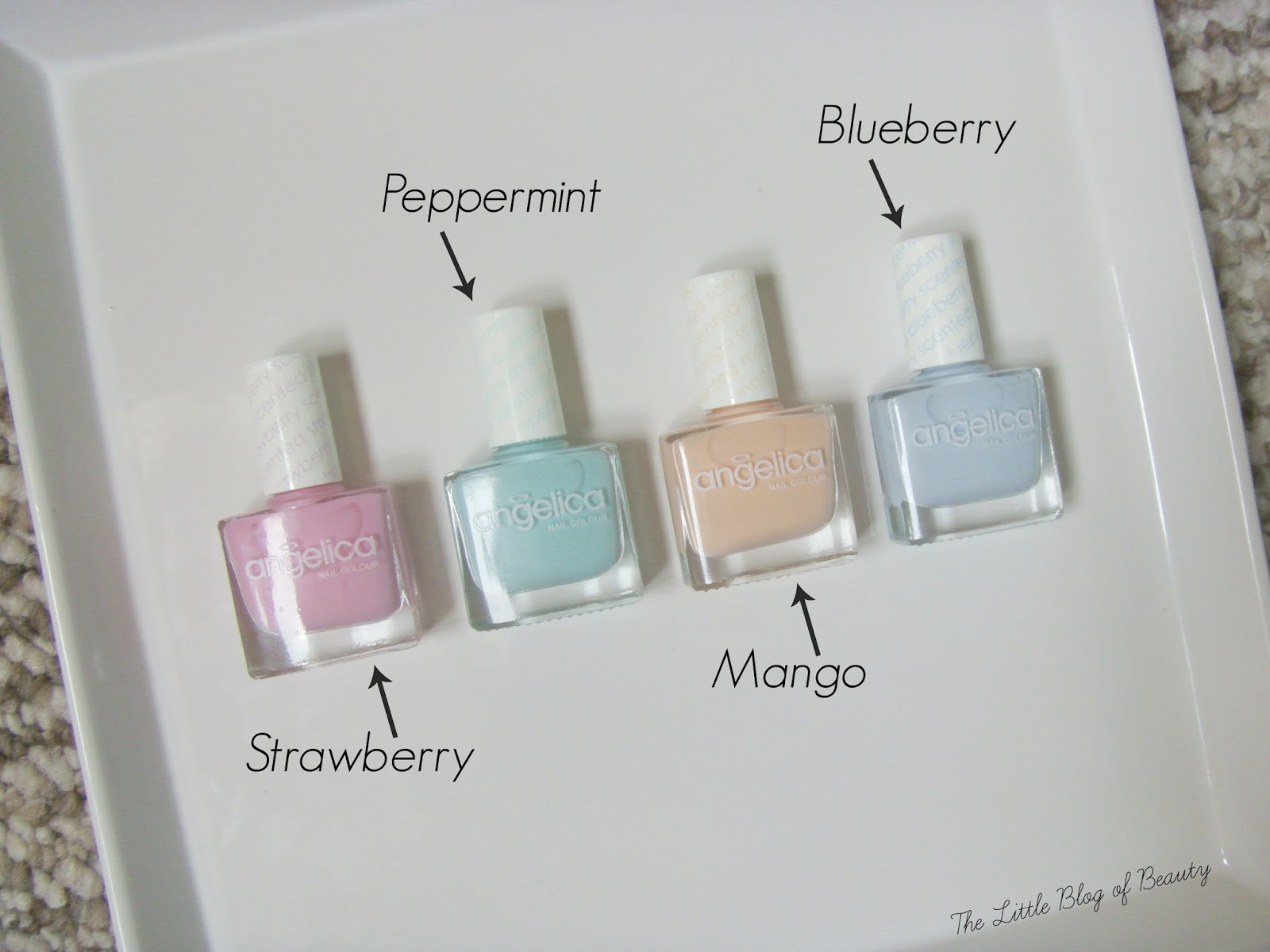 angelica nail colour Scented collection