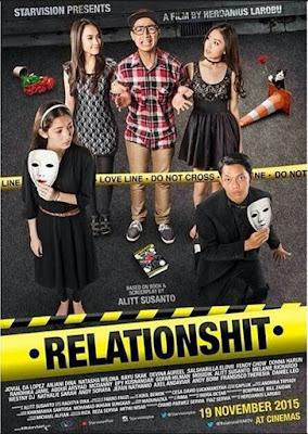 Sinopsis film Relationshit (2015)