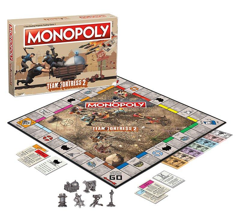 Team Fortress 2 presenta su juego de Monopoly