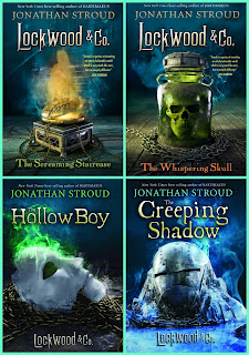 Lockwood & Co. books by Jonathan Stroud