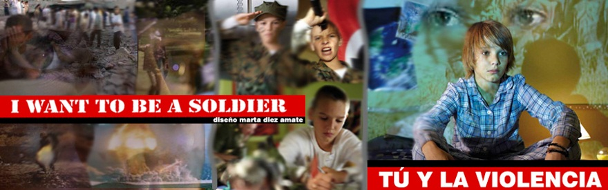 I want to be a soldier. Toma el mando.
