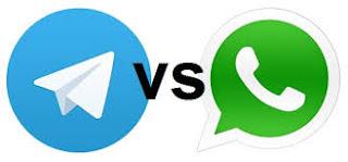 Inilah kelebihan Telegram daripada Whatsapp menjelang akhir 2017