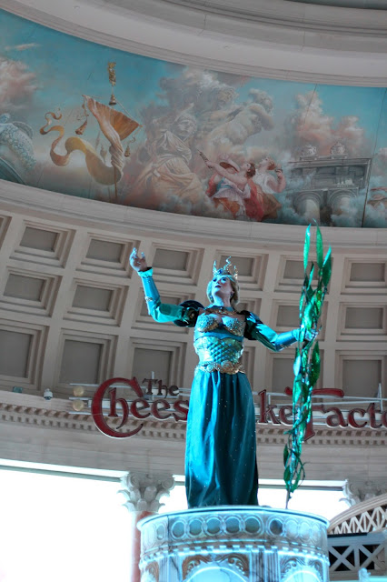 Caesars Palace Fall of Atlantis Show