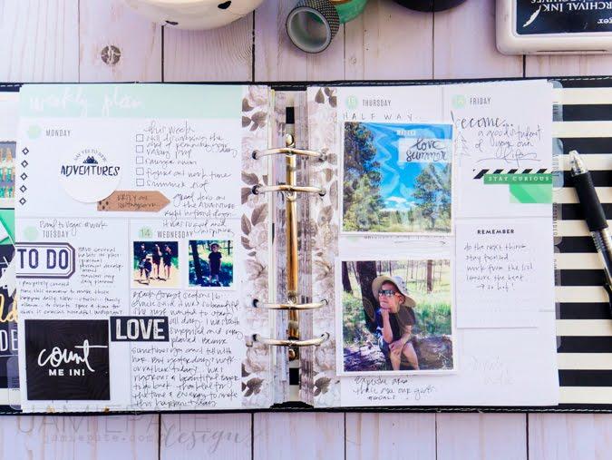 June Planner Recap by Jamie Pate | @jamiepate