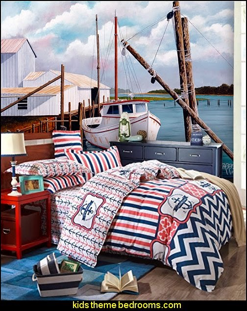 Cruising Team Cotton Bedding nautical bedding