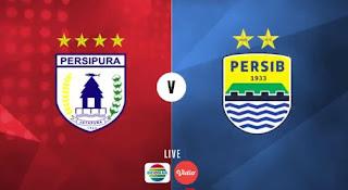 Jadwal Siaran Langsung Persipura vs Persib Bandung