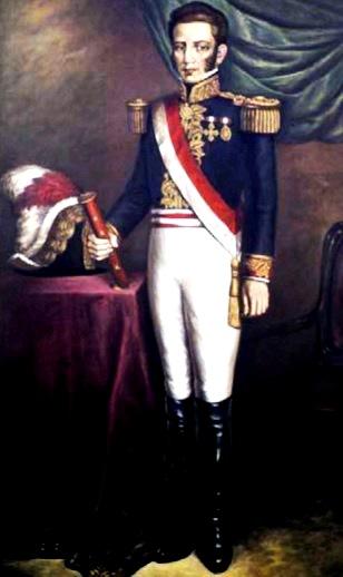 Imagen de José de la Mar parado y a color