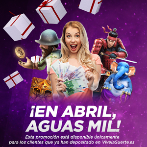 VivelaSuerte promocion en abril bonos mil 5-7 abril