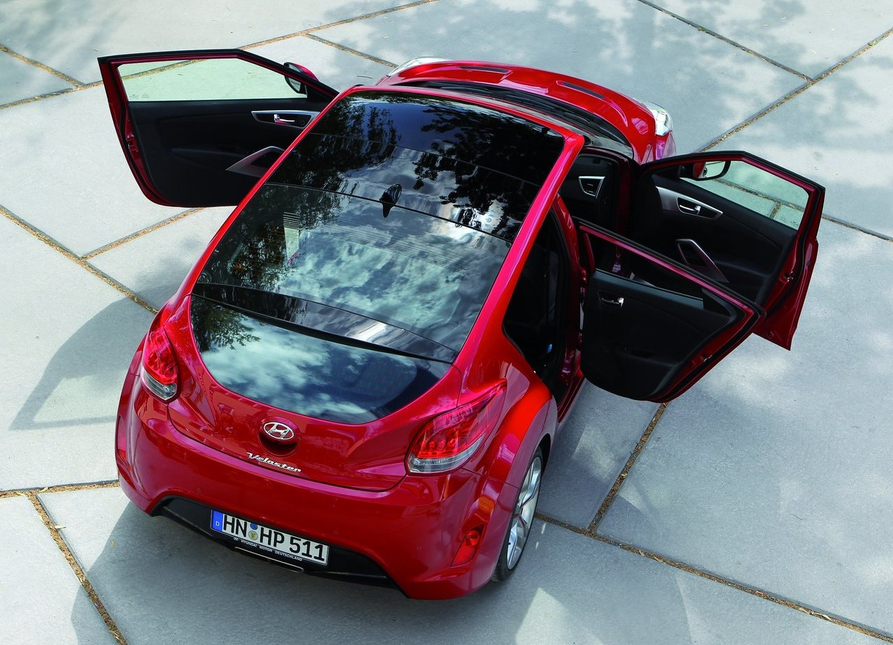 The Hyundai Only Has 3 Doors Veloster