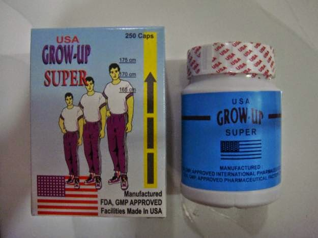 Peninggi Badan Grow Up Super USA