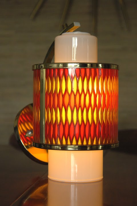 Mad For Mid Century Moe Light Honeycomb Lighting