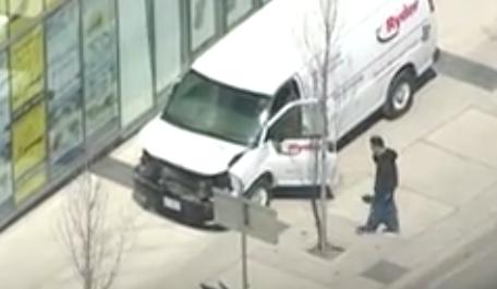 Toronto collision: Suspect in custody after van strikes multiple pedestrians