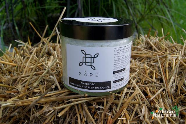 Sape - Świeżość – musujący proszek do kąpieli