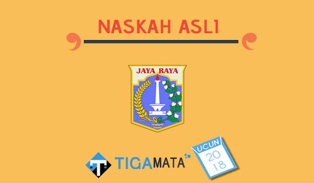 Soal UCUN 2018 (Matematika IPA Bahasa Indonesia Inggris)