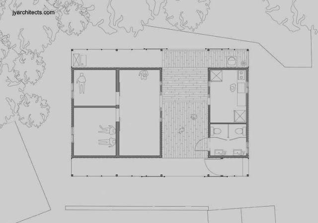 Plano arquitectónico de planta