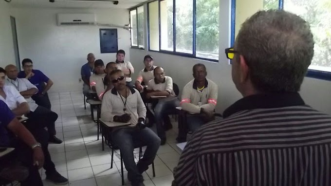 Trabalhadores do SAAE passam por treinamento em curso de Controle de Vazamentos em Tubulações Enterradas