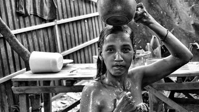 Beauté du Jour : Douche à l'ancienne