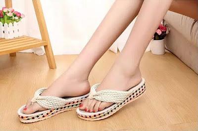 Desain Sepatu Sandal Anak Perempuan Untuk Santai