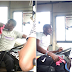 "Driver suspected to be ""high"" takes passengers round Lagos confusedly(photos)"