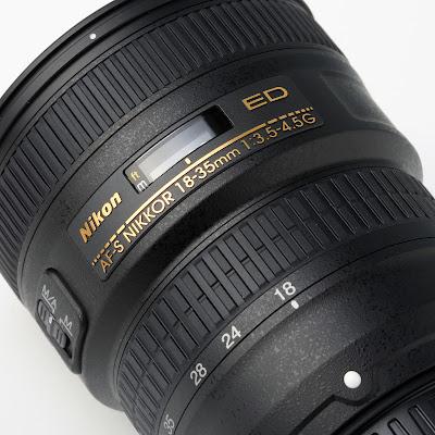 Nikon AF-S 18-35mm F/3.5-4.5G ED nikon fx lens