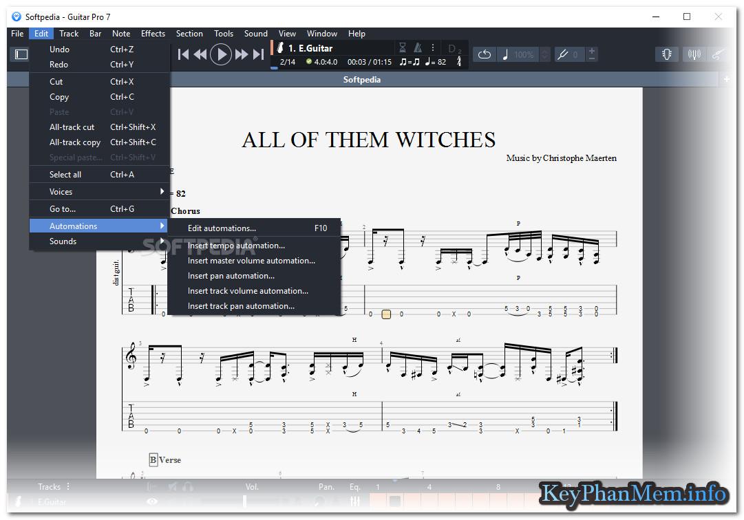 Download Arobas Music Guitar Pro 7.0.8 Build 1042 Full Key, Siêu ứng dụng học đàn Guitar trên máy tính