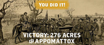 You Did It! 276 Acres Saved at Appomattox Court House