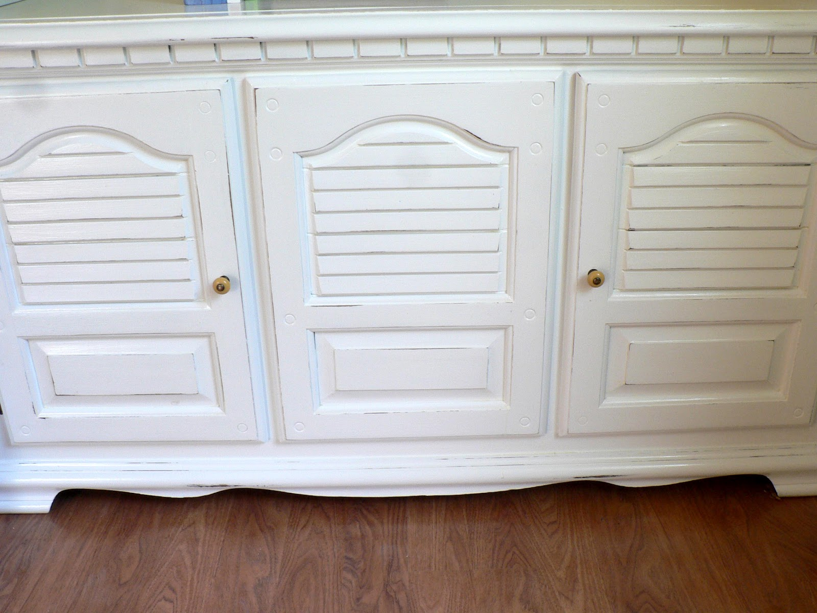Kitchen Hutch Furniture Storage Shelf How To Paint Bless This Mess