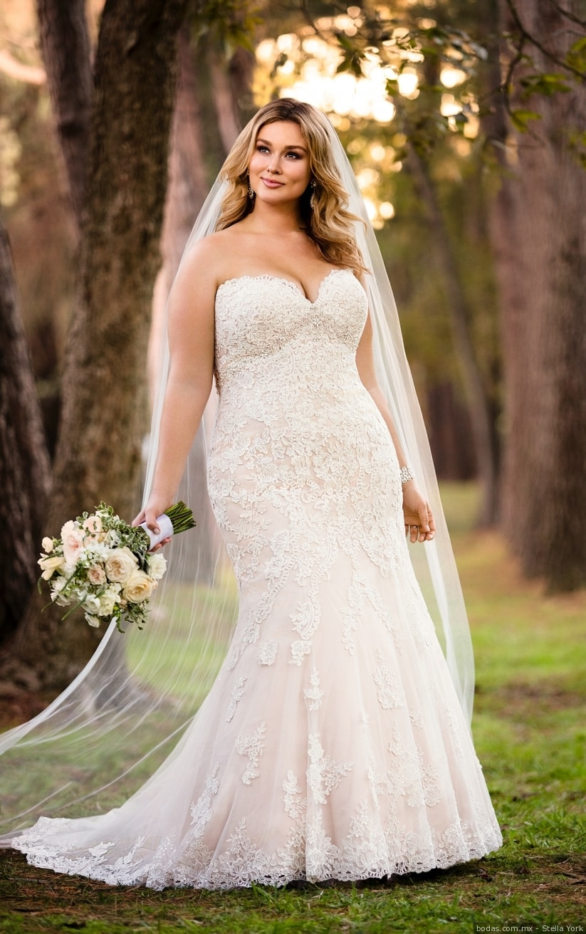 Vestido de novia gorditas 2019
