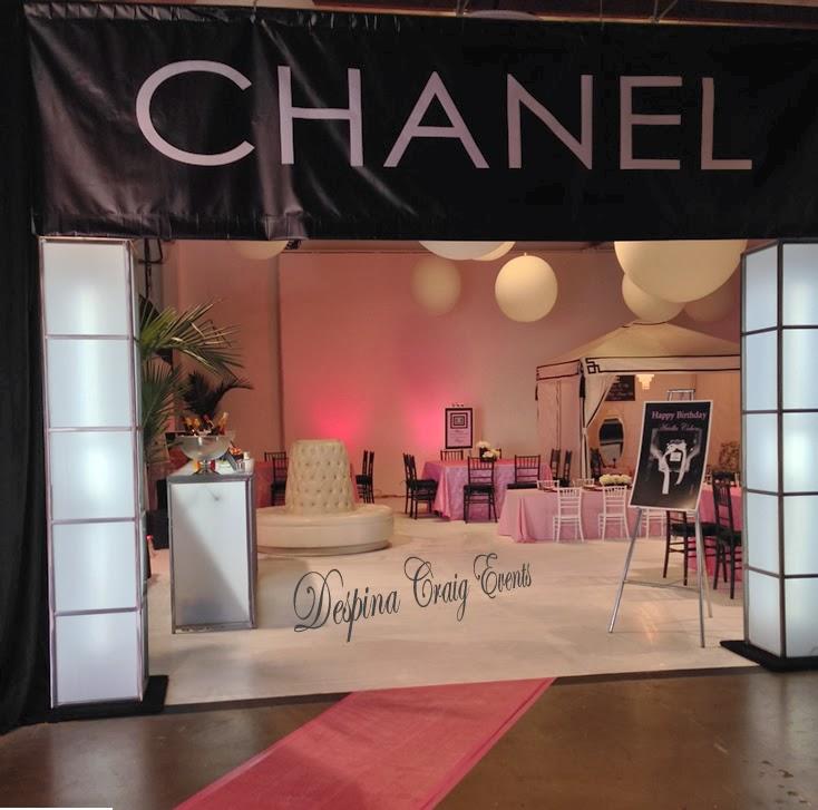 Despina craig events coco chanel theme for Home decor 91304