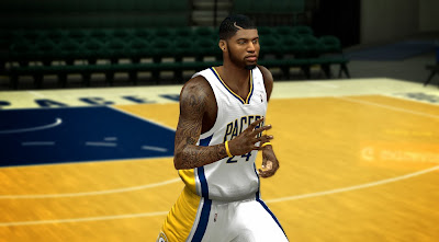 NBA 2K14 Paul George Cyberface Mod