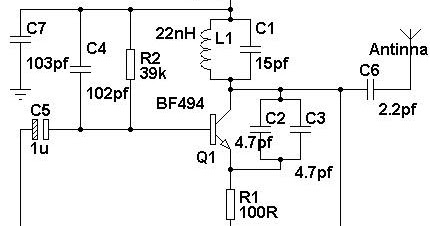 Simple Mobile Phone Jammer Circuit Diagram ~ ELECTRONICS LAB