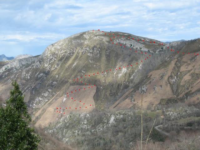 Rutas Montaña Asturias: Subida a la Cruz de Priena