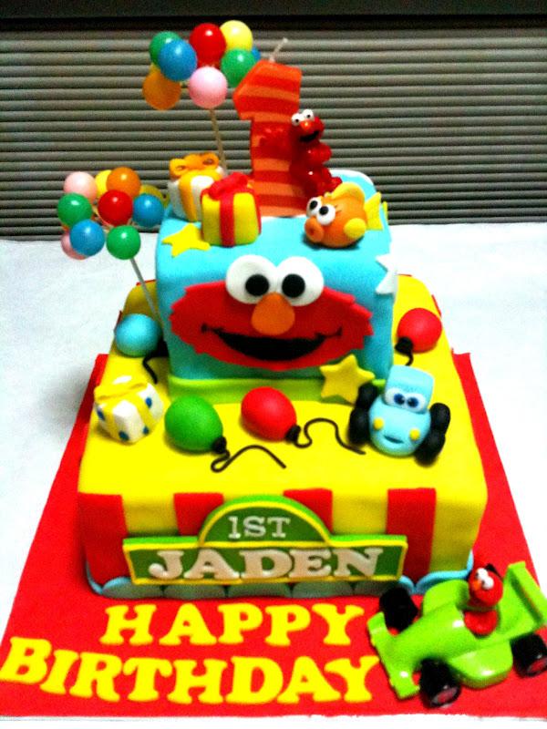 Oven Creations Happy 1st Birthday Jaden
