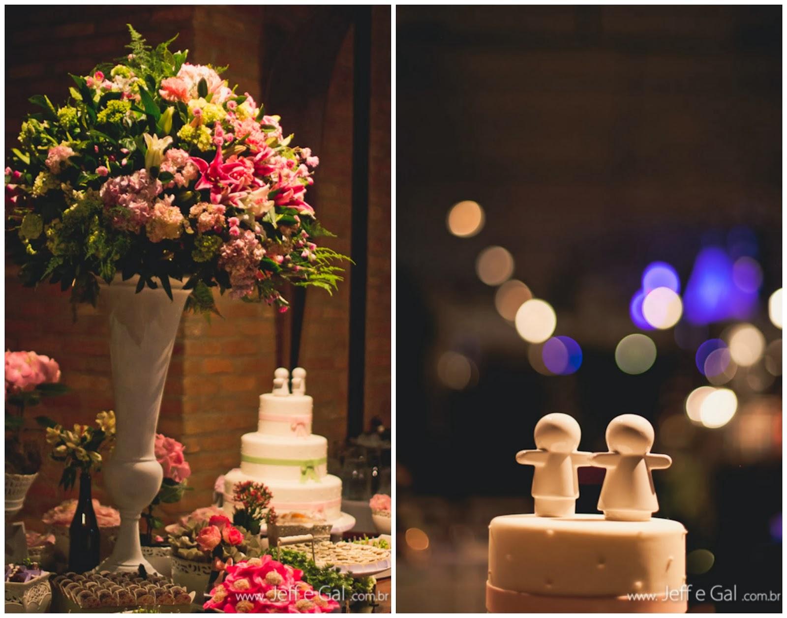 Casamento topo de bolo