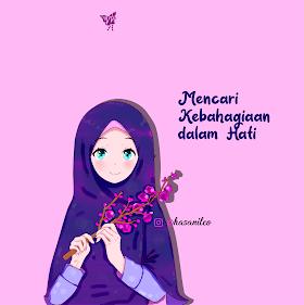 Islamic Couple Cartoon Hd 010