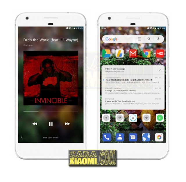 Download Thema MIUI Pixel Oreo Mtz For Xiaomi Redmi V9 Theme Update Theme