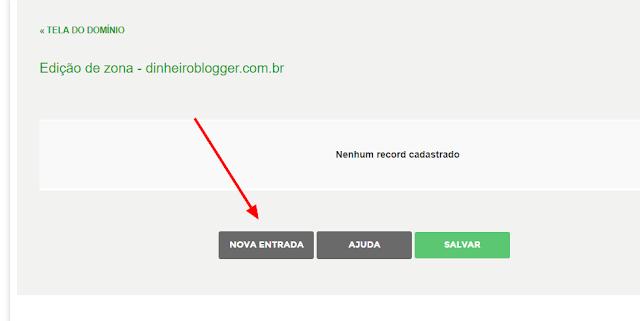 nova entrada registrobr blogger