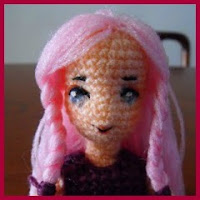 Muñeca Pandora amigurumi