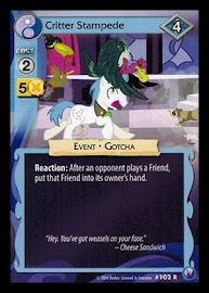 My Little Pony Critter Stampede Canterlot Nights CCG Card