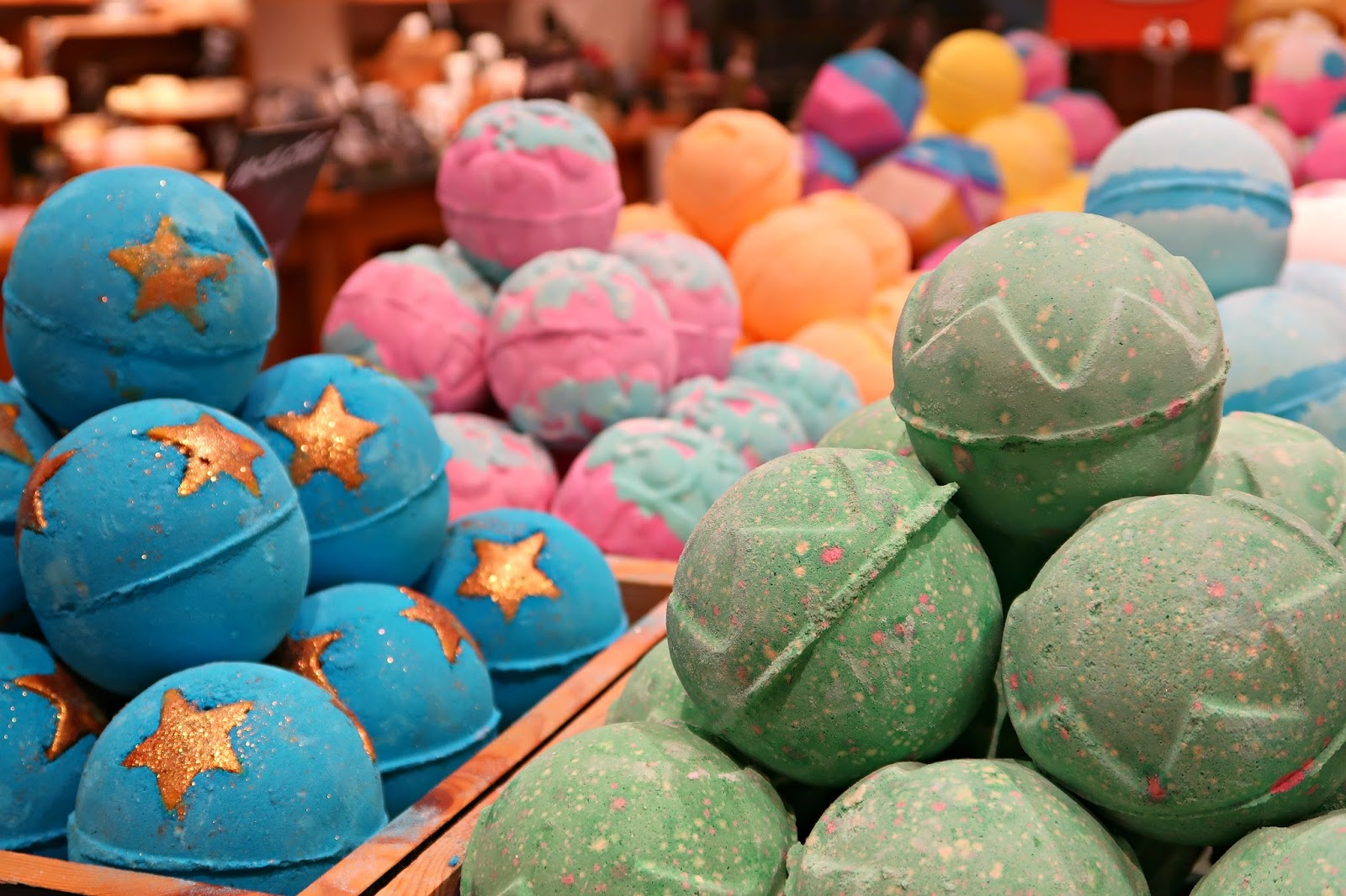LUSH Christmas Winter Collection Review 2016 Blogger Event